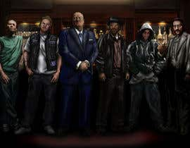 kanegallagher tarafından Illustrate a picture of characters from TV Shows: Sopranos, Oz, The Wire, Sons of Anarchy, Breaking Bad için no 15