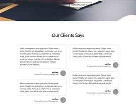 alexxanderron tarafından Design a Website Mockup için no 8