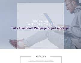 #3 untuk Design a Website Mockup oleh blackjacob009