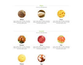 #5 untuk Design order page for food delivery website oleh trungducnguyen91