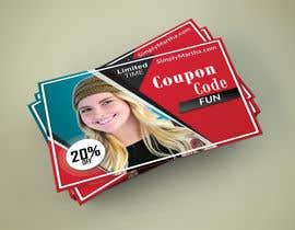 #34 untuk Design a 20% OFF coupon oleh blackjacob009