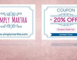 #22 untuk Design a 20% OFF coupon oleh gkhaus
