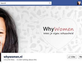 #25 for Design a Facebook landing page for whywomen.nl af jakuart