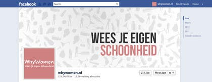 #28 for Design a Facebook landing page for whywomen.nl by jakuart