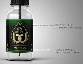 #6 untuk Design Our Label for an eLiquid Brand oleh vickysmart