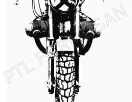 #16 untuk Vector Design, Logo Style for Motorcycle Brand, based on motorcycle photo oleh alungpan