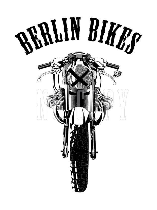 #20 for Vector Design, Logo Style for Motorcycle Brand, based on motorcycle photo by EugeneShupyk