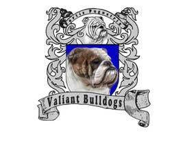#73 for Valiant Bulldog Logo Design by wittmaan