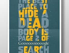 "alexandrSergeich tarafından Design me a poster. ""Best place to hide a dead body is page 2 için no 130"