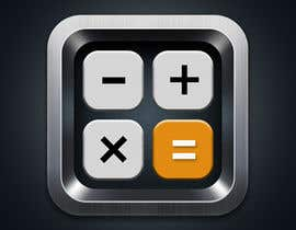 #90 untuk Design Android App Icon for Calculator oleh Pxelperfect
