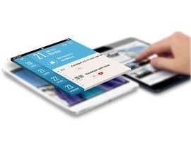 #7 untuk Design an App Mockup for iPad app oleh wildpanther92