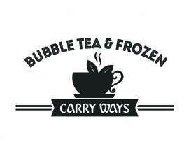 #15 for Design Logo Bubble Tea Shop by Creativeapes1