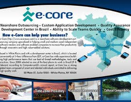 ndotla11Shone11 tarafından Design a flyer for IT business conference/event için no 4