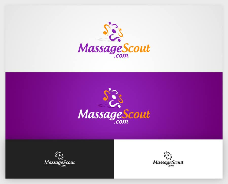 #66 for Design of a breathtaking logo for massagescout.com by lemuriadesign