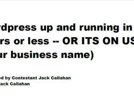 JackCallahan tarafından Write 1 Line Catchy Title Tag For Our Service için no 1