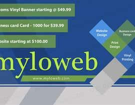 #6 untuk Design a Banner 4 ft x 6 ft oleh Creativeapes1
