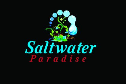 walijah tarafından Design a Logo for Saltwater Paradise için no 25