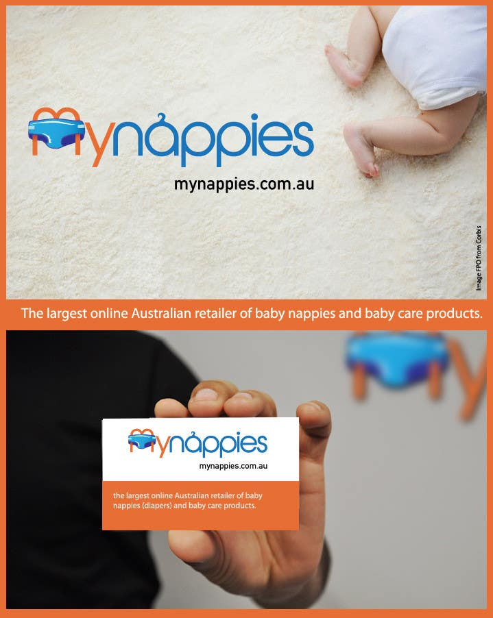 Proposition n°223 du concours Logo Design for My Nappies