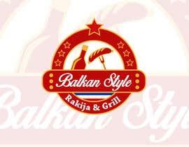 #13 for BALKAN STYLE / Rakija & Grill : Logo design by Atletikos