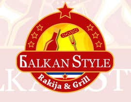 #21 for BALKAN STYLE / Rakija & Grill : Logo design by Atletikos