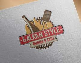 #17 for BALKAN STYLE / Rakija & Grill : Logo design by KonstantinosArg