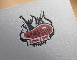 #25 for BALKAN STYLE / Rakija & Grill : Logo design by KonstantinosArg