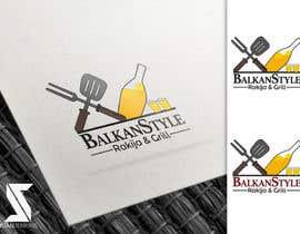 #27 for BALKAN STYLE / Rakija & Grill : Logo design by juanjenkins