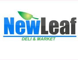 #67 untuk Design a Logo for New Leaf Deli and Market -- 2 oleh ctate