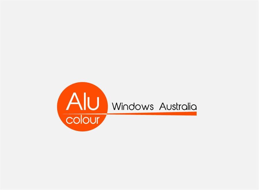Konkurrenceindlæg #84 for Design a Logo for Alucolour Windows Australia