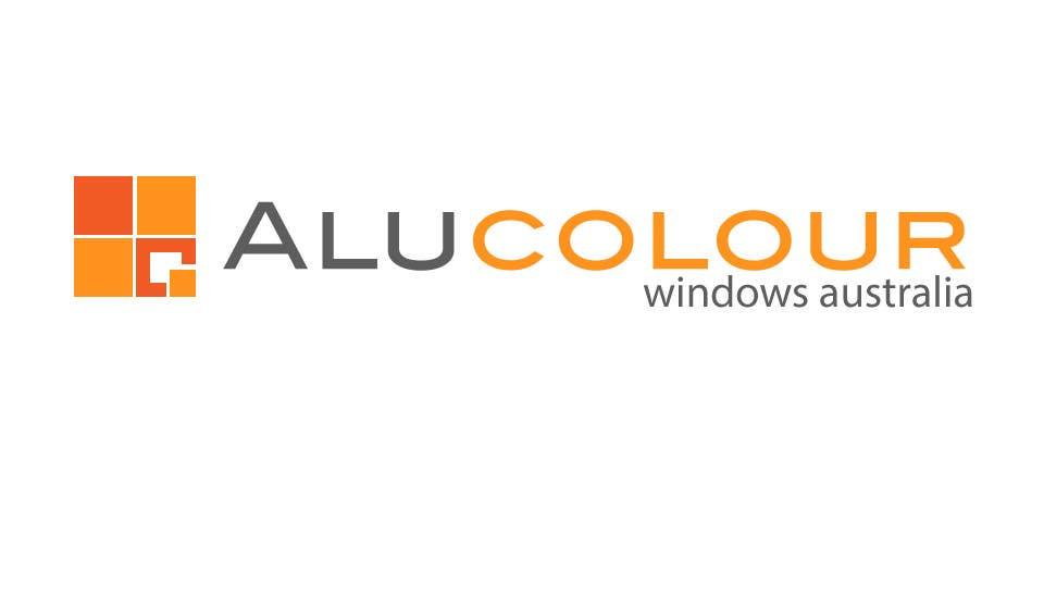Konkurrenceindlæg #93 for Design a Logo for Alucolour Windows Australia