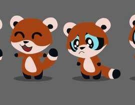 #6 untuk Red Panda Mascot For Language Learning Site oleh ALapointe