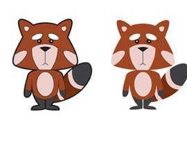 #28 untuk Red Panda Mascot For Language Learning Site oleh hijordanvn