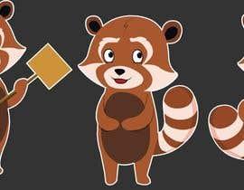 #24 untuk Red Panda Mascot For Language Learning Site oleh Rotzilla