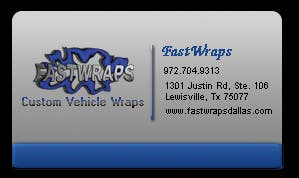 #17 for Design some Business Cards for Car Wrap Business by designfrenzy