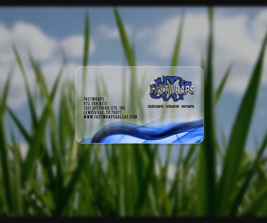 #26 for Design some Business Cards for Car Wrap Business by Malliyoor