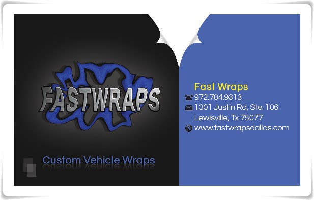 #9 for Design some Business Cards for Car Wrap Business by sedayu