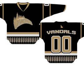 #56 untuk Hockey Logo and Jersey Design oleh temperfidelis