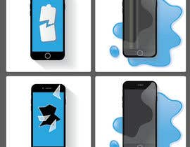 #36 for deliver 3 vector images (mobile phone) by AndyZo