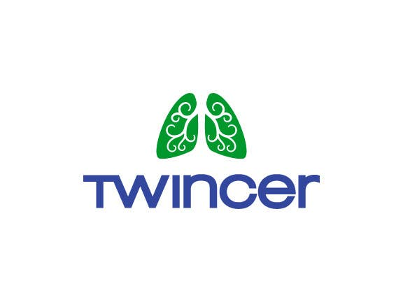 #51 for Design a logo for Twincer device by raikulung