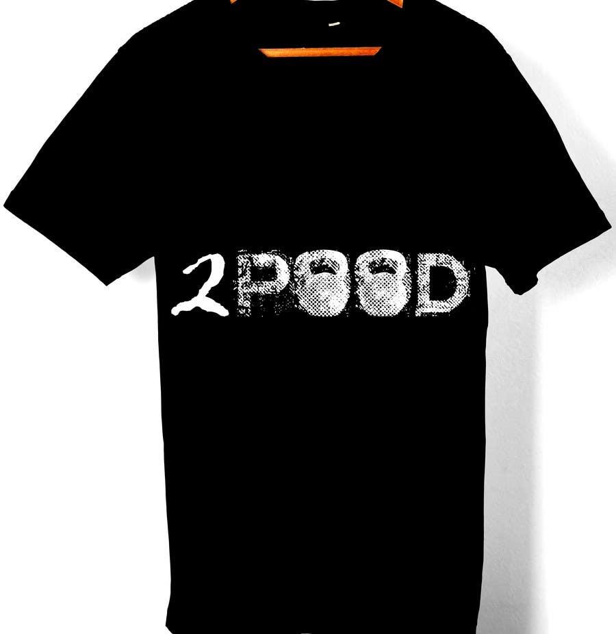 Penyertaan Peraduan #16 untuk Design a Logo for new 2POOD t shirt