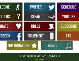 #5 untuk Twitch TV Streaming Description Headers oleh turkmentunc
