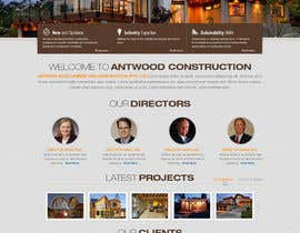 nº 24 pour Build a Website for Antwood Construction par iNoesis
