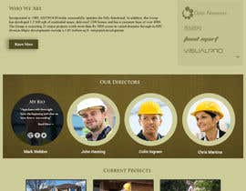 nº 64 pour Build a Website for Antwood Construction par surendartech
