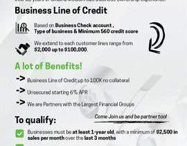#13 untuk Design a Brochure Business Line of Credit  2 oleh majakcz