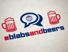 #7 untuk Design a avatar/logo/concept for Blabs and Beers event oleh Naumovski