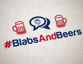 #8 untuk Design a avatar/logo/concept for Blabs and Beers event oleh Naumovski