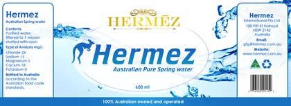 #15 untuk Premium spring water bottle label oleh RainMQ