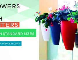 abrahamarul tarafından Design a banner for my Website Railing Planters için no 5