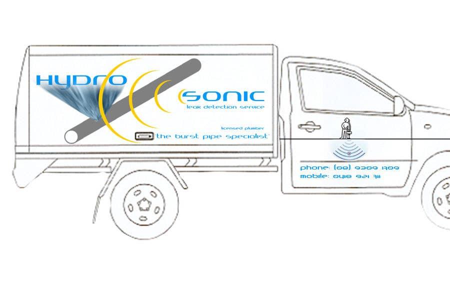 Konkurrenceindlæg #26 for Graphic Design for Hydrosonic Leak Detection Service
