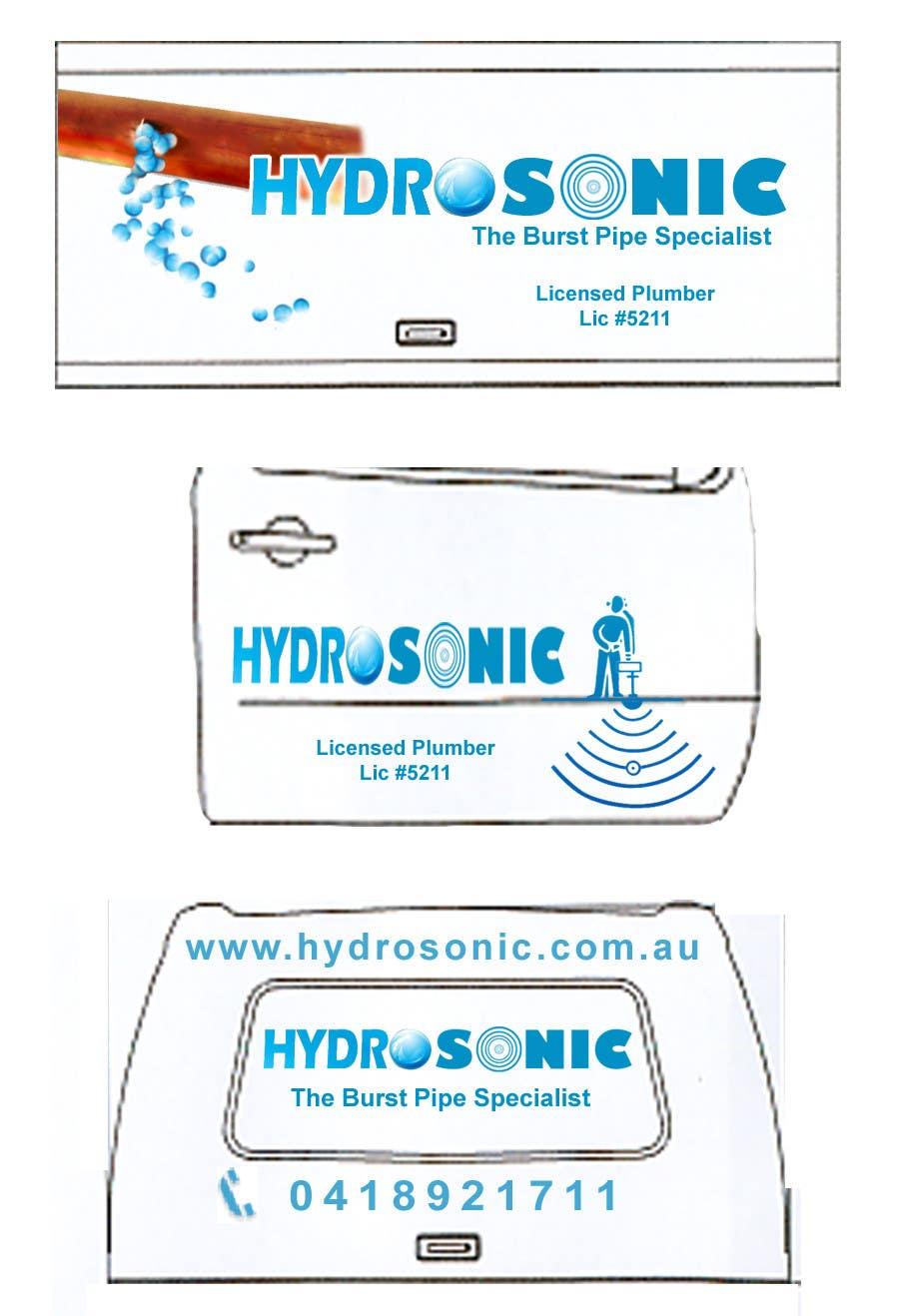 Participación en el concurso Nro.                                        77                                      para                                         Graphic Design for Hydrosonic Leak Detection Service